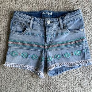 Cat & Jack Girl's Denim Shorts